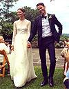 Boda 'top': Los modelos Sara Blomqvist y Jeremy Young se casan