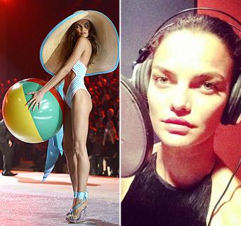 La espectacular modelo brasileña Barbara Fialho se lanza al mundo de la canción