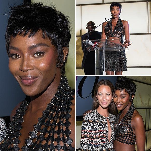 Naomi Campbell, indecisa con su 'look': ¡Cuatro estilos en cinco días!