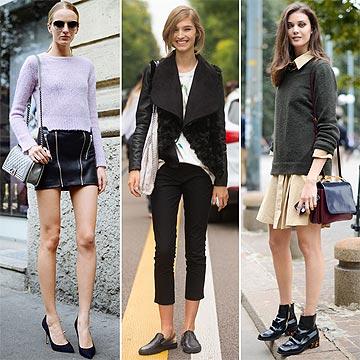 'Street style': ¿Cómo visten las modelos cuando bajan de la pasarela?