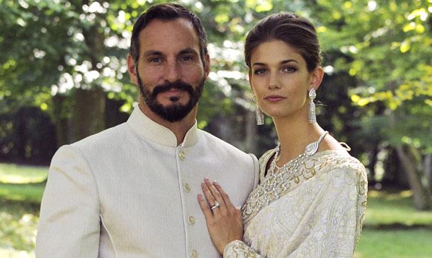 La princesa Salwa Aga Khan, o, lo que es lo mismo, la modelo Kendra Spears, ¡embarazada!