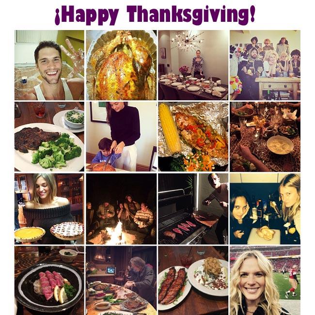 Acción de Gracias: Recetas con pavo (o no)… por 'top models'