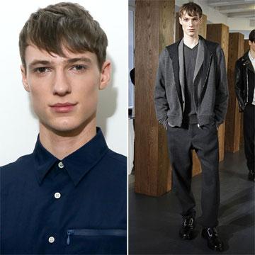 'Top male' del momento: Tommaso de Benedictis, elegido el mejor modelo masculino del año