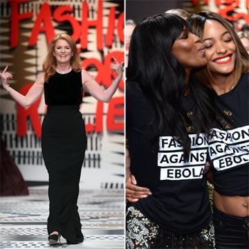 Sarah Ferguson, Jourdan Dunn, Rupert Everett… ¡Todos con la solidaria Naomi!