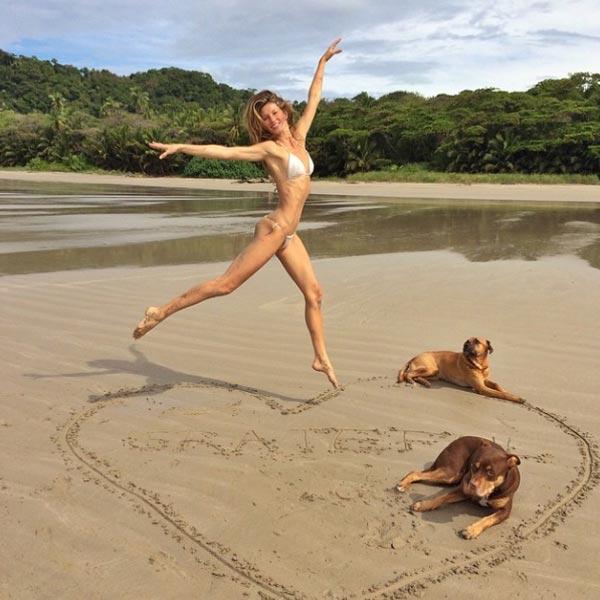 Gisele Bündchen… ¡Ya está de vacaciones!