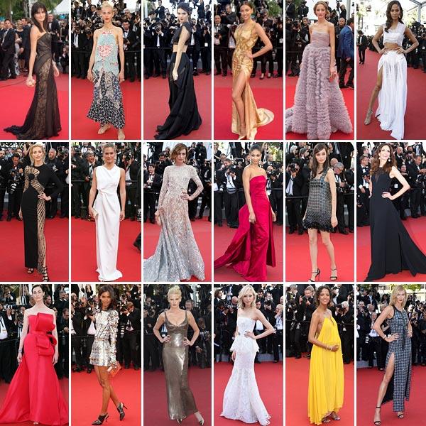 Modelos en Cannes: ¿Qué 'tops' han mostrado su lado más glamuroso sobre la alfombra roja del festival?