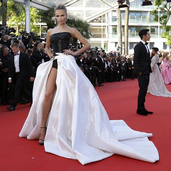Cannes 2015: Modelos sobre la alfombra roja