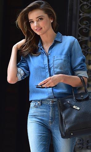 Miranda Kerr, inspiración para 'top models' de ayer y hoy