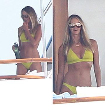 Elle Macpherson, 'très sexy', en bikini a sus 51 años