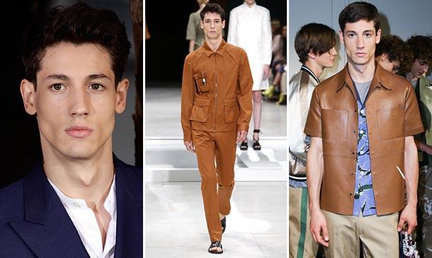 El icónico modelo argentino Nicolás Ripoll, 'el mejor de 2015'