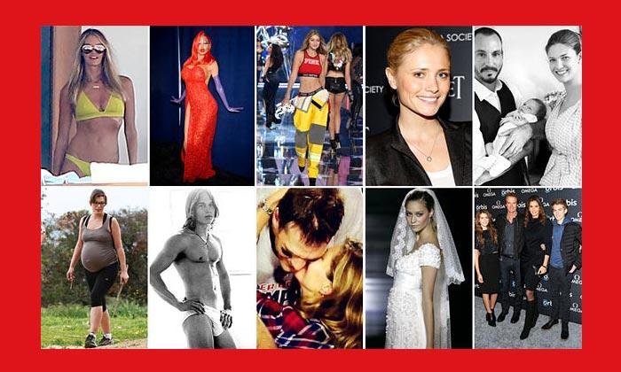 ¿Qué 10 modelos han protagonizado vuestros 'noticiones' favoritos del año?