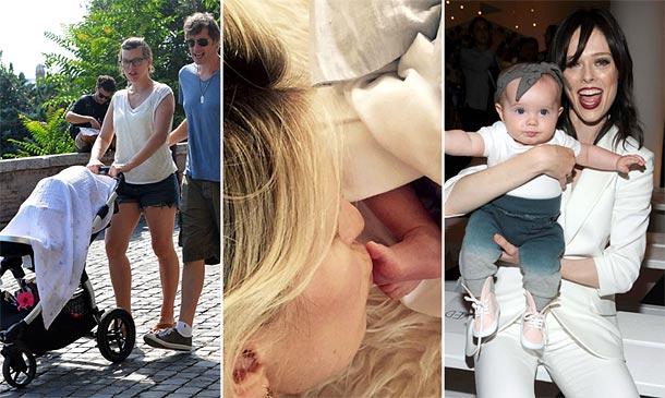 Modelos embarazadas, nacimientos... Repasamos las 'baby news' de 2015