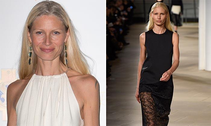 Kirsty Hume, modelo icono de los años 90, se corona como 'la mejor de 2015'