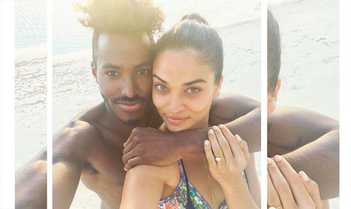 Shanina Shaik, comprometida con su novio DJ Ruckus
