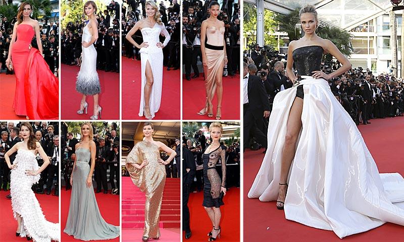 Cannes y sus 'top models': 100 'looks' inolvidables de la alfombra roja