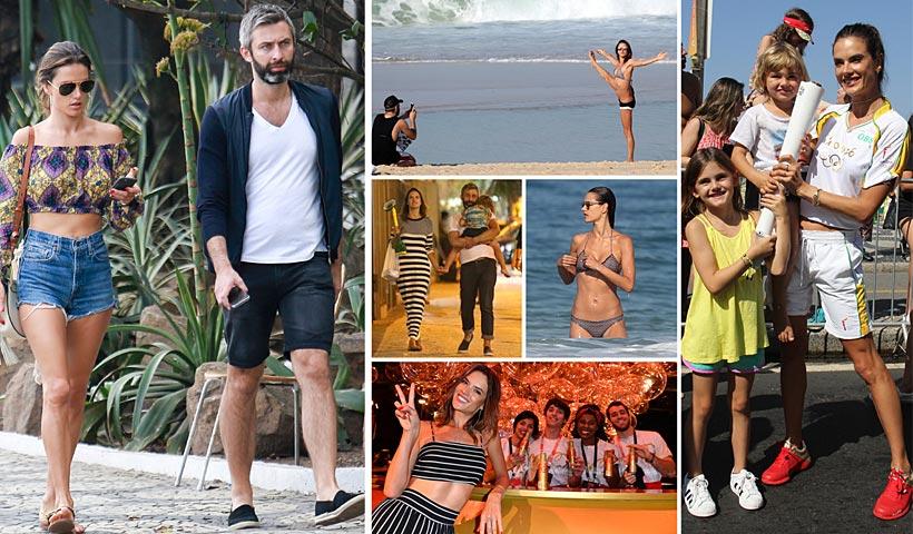Alessandra Ambrosio, un verano 'diferente' en Río (junto a sus hijos y un buen amigo): Te mostramos las fotos