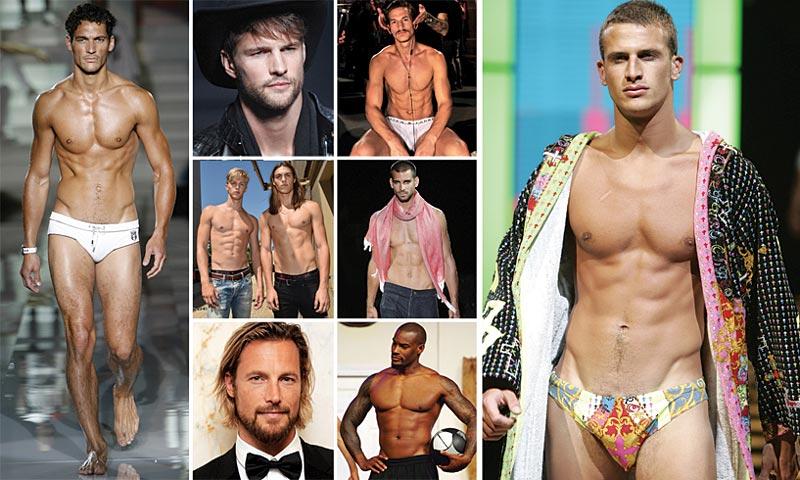 'Hot models': Los modelos masculinos más atractivos del mundo (en foto)