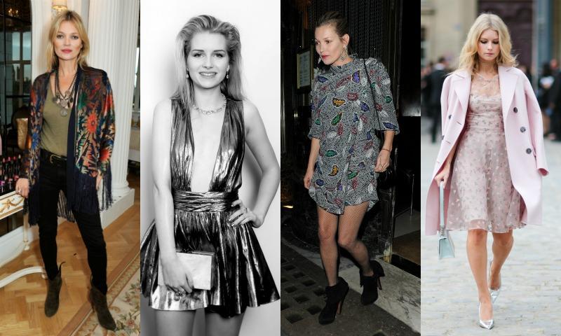 Duelo de estilo: Lottie Moss 'vs' Kate Moss