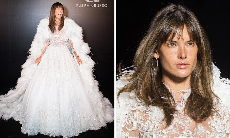 Alessandra Ambrosio, una novia muy natural ('make-up free') y 'loca' de emoción