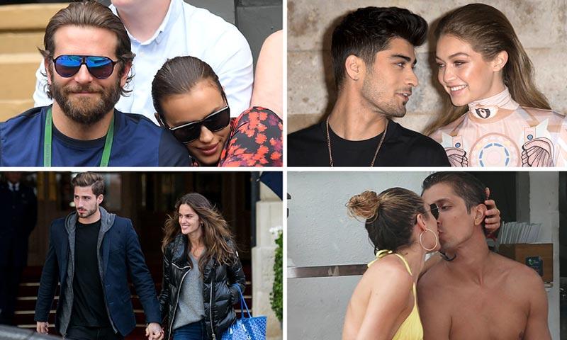 Gigi Hadid, Karlie Kloss, Irina Shayk... ¿Dónde encuentran novio las mejores modelos?