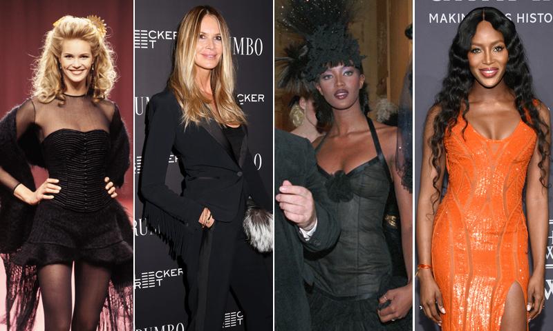 ¿Qué ha sido de las 'top models' que triunfaban en los años 90?
