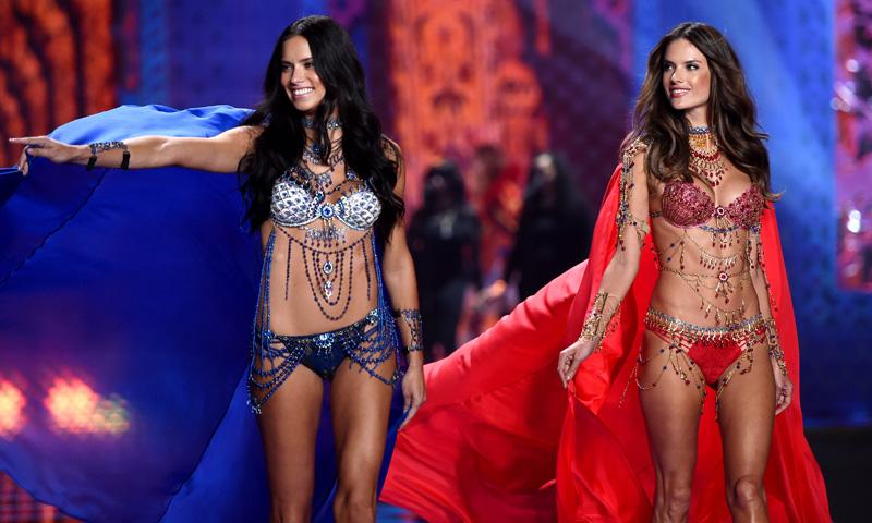 Alessandra Ambrosio y Adriana Lima, o cómo conseguir ser la piedra angular de Victoria's Secret
