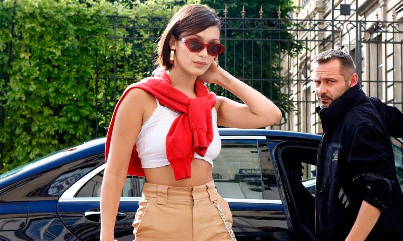 'Street style': Los 10 momentos más 'trendy' de Bella Hadid (y su nuevo 'blunt bob')