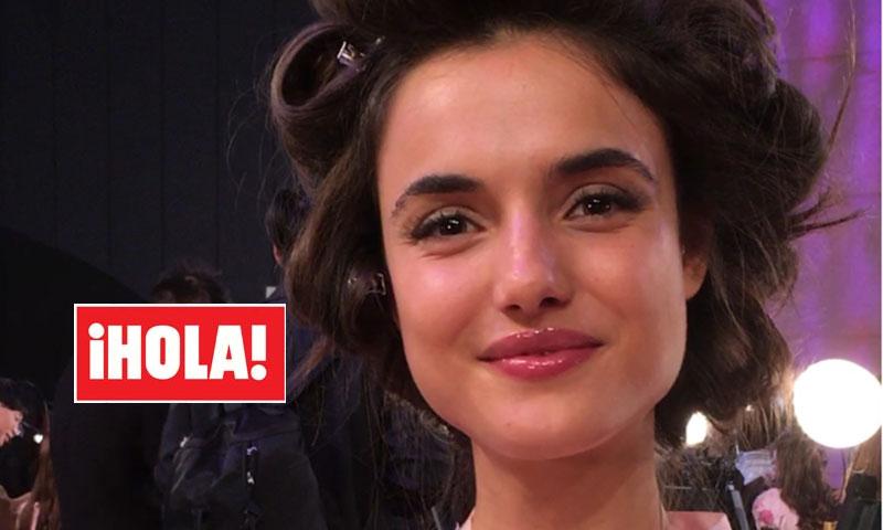 Blanca Padilla, para Hola.com en el 'backstage' de Victoria's Secret: ¿qué nos ha contado?