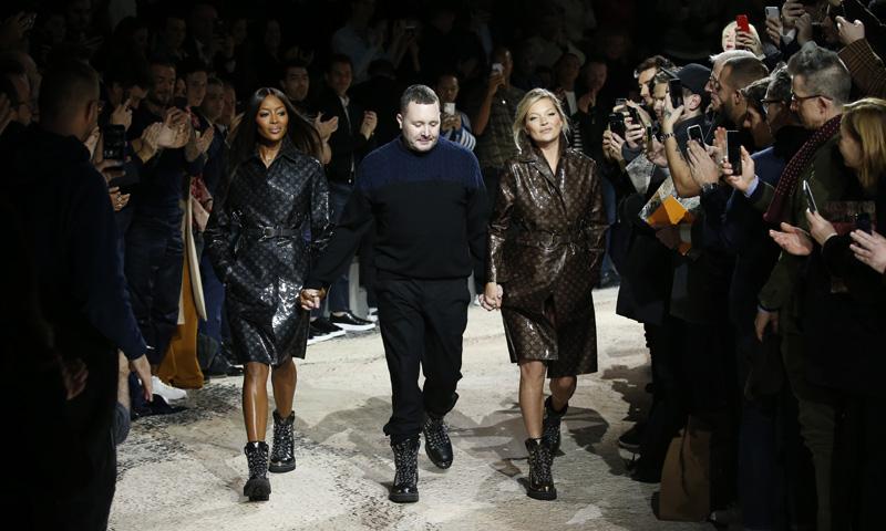 Kate Moss, Naomi Campbell y el desfile masculino del que todo el mundo habla