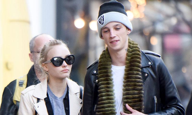 ¿Ha roto Lily-Rose Depp con su novio, el modelo Ash Stymest?