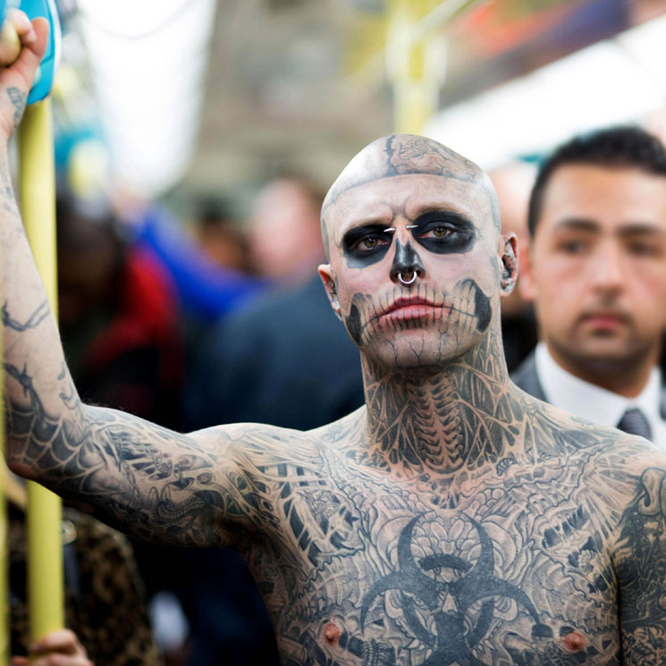 Canadas Zombie Boy, a model and Guinness world record