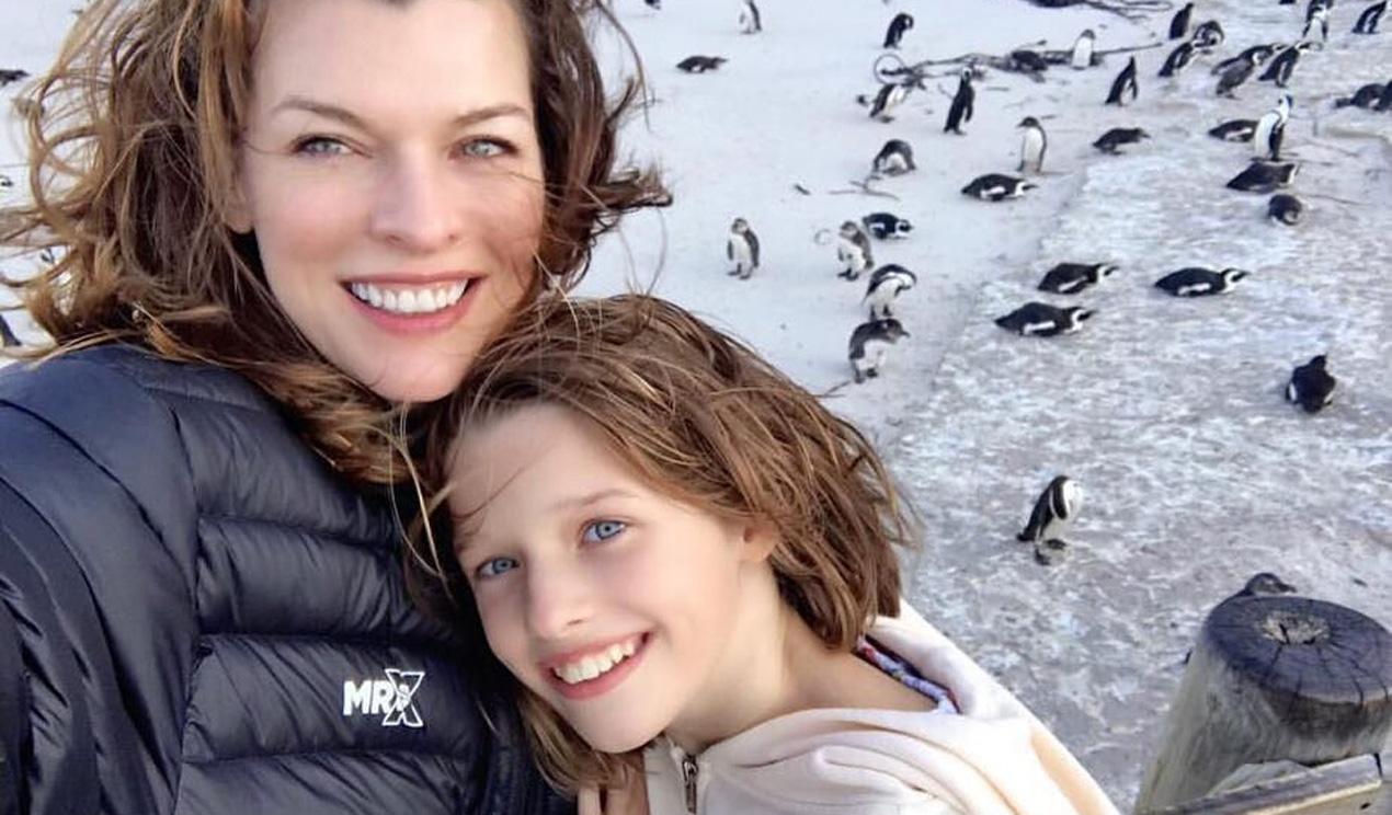 La nueva estrella de Disney y Marvel es ¡la hija mayor (y modelo) de Milla Jovovich!