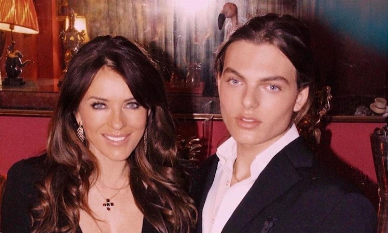 Elizabeth y Damian Hurley, la foto que demuestra que más que madre e hijo ¡son mejores amigos!