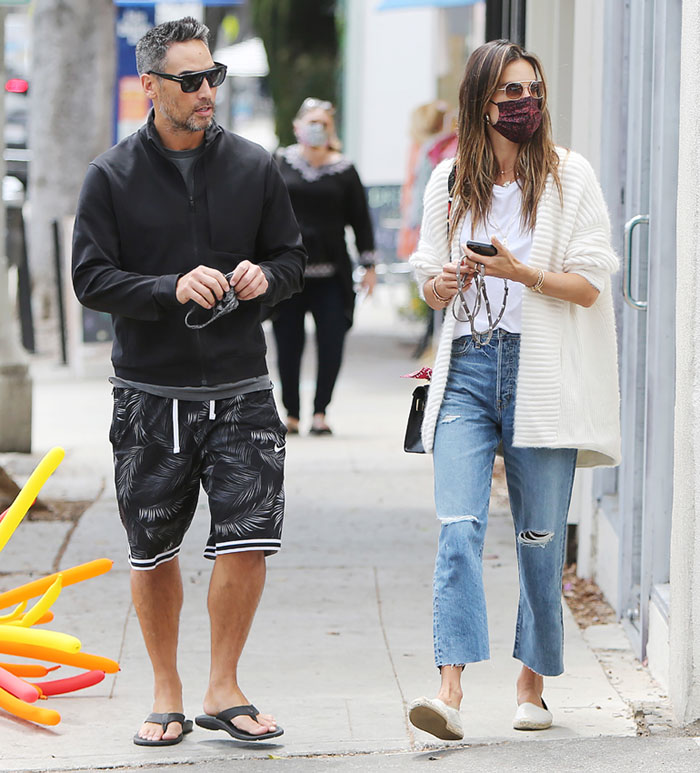 Alessandra Ambrosio y Richard Lee