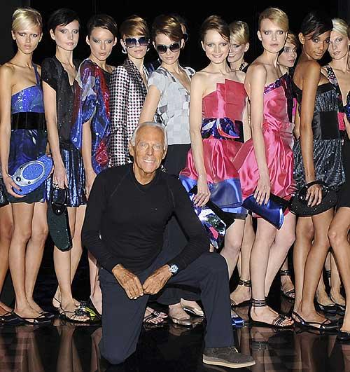 Arranca 'Milan Fashion Week' primavera-verano 2010: ¡Todos con Armani!