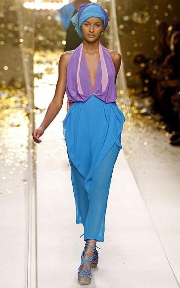 Apoteósico final de la Semana de la Moda de París primavera-verano 2010