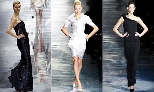 Comienza la Alta Costura primavera-verano 2010: Christian Dior y Giorgio Armani Privé