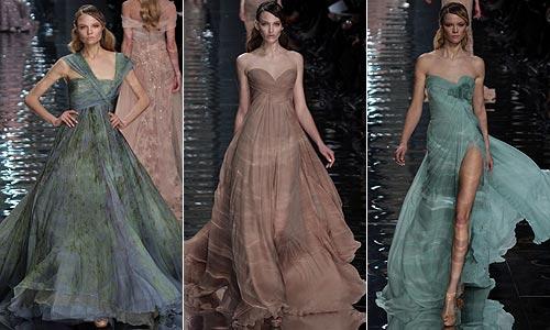 Alta Costura primavera-verano 2010: Givenchy y Elie Saab