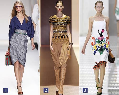 Milán 'Fashion Week': Aquí están las primeras colecciones para primavera-verano 2011