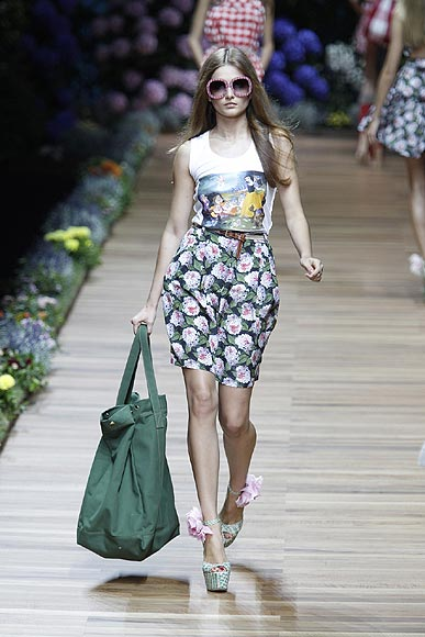 desfiles Milan Fashion Week primavera-verano 2011 Alberta Ferretti