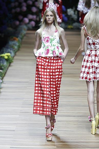 desfiles Milan Fashion Week primavera-verano 2011 D&G