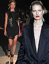Natalia Vodianova y Karolina Kurkova inauguran la Semana de la Moda de París