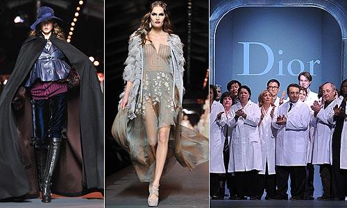 c59fc86a7 Dior presenta sus propuestas para otoño-invierno 2011-2012 sin la ...