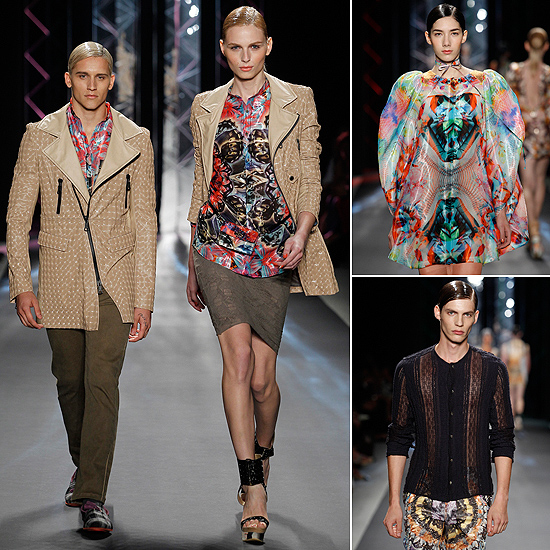'Mercedes-Benz Fashion Week' Nueva York: Custo Barcelona nos sorprende con los estampados 'tridimensionales' para la próxima primavera-verano 2012