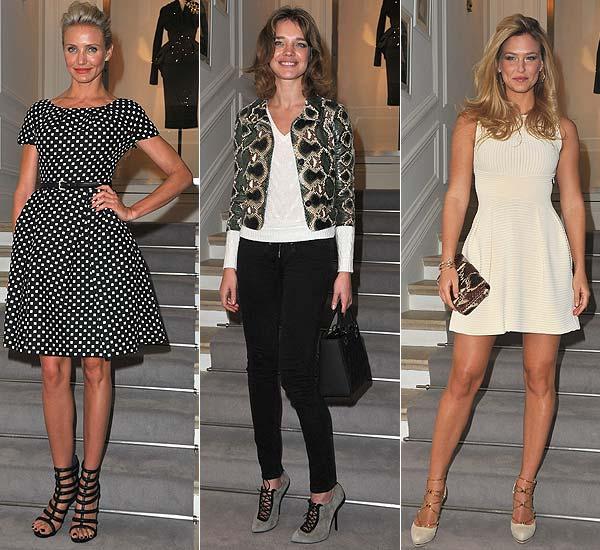 Famosos en el desfile de Dior Alta Costura primavera-verano 2012