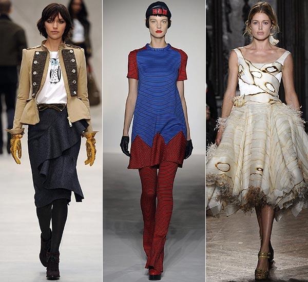 'London Fashion Week': Así son sus colecciones para otoño-invierno 2012-2013