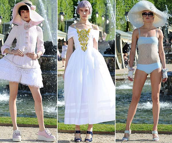 Chanel presenta en Versalles su colección 'Crucero 2013'