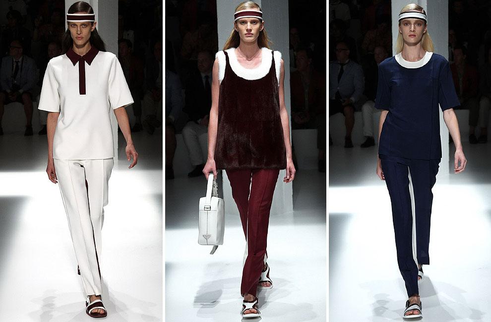 Anne Vyalitsyna, Aymeline Valade, Daria Strokous… presentan la colección 'Resort 2013' de Prada durante la 'Milan Men Fashion Week'