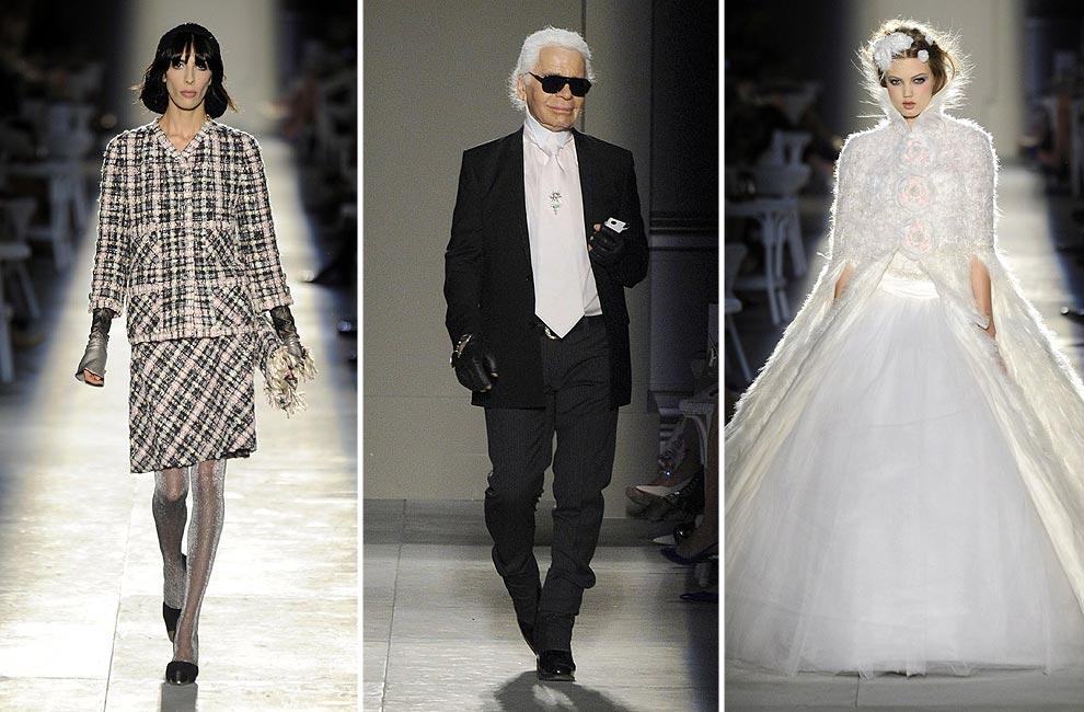 Chanel Alta Costura: Karl Lagerfeld fusiona romanticismo y futurismo en sus nuevas propuestas para la casa francesa