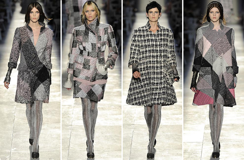 Chanel alta costura karl lagerfeld fusiona romanticismo y for Chanel alta moda